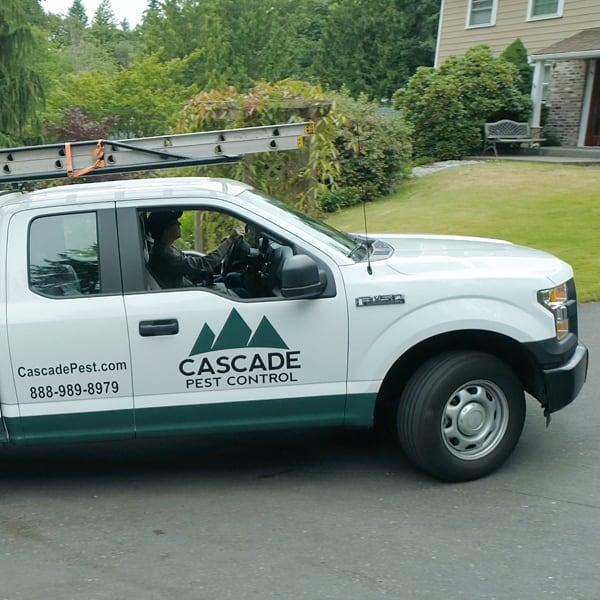 cascade pest control truck